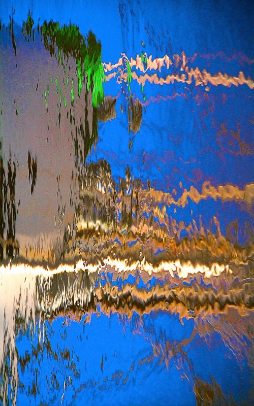 Boat Slip 20, 33 x 20 photograph by Rick White.
