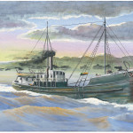 John A. Doerner – Navarro.   This 232 ton steamer was built at San Francisco in 1887. Her disposition, like many of the thousands of ships of the era, is unknown.