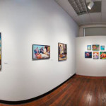 360 degree panoramic view of Jeff Jordan artwork