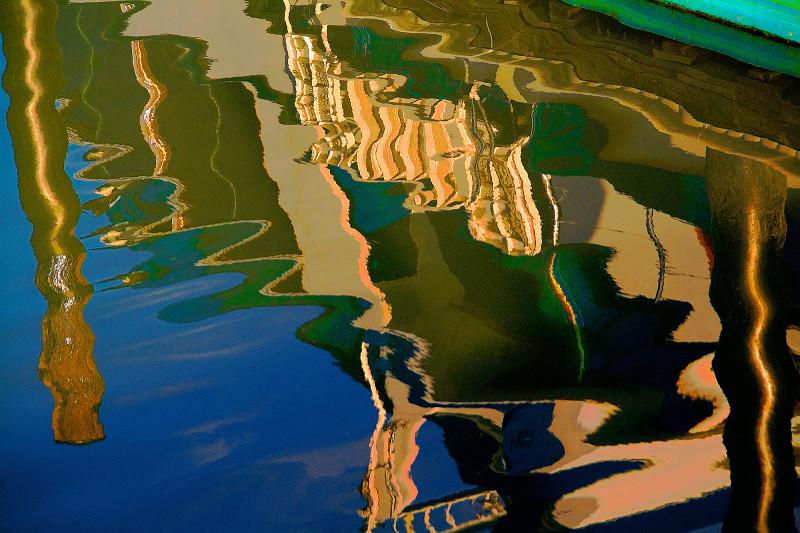 Boat Slip 9, 20x30 photograph by Rick White.