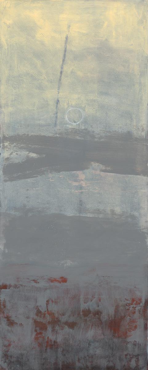 Susanna Gallisdorfer, untitled, acrylic on Tyvek, 2010.
