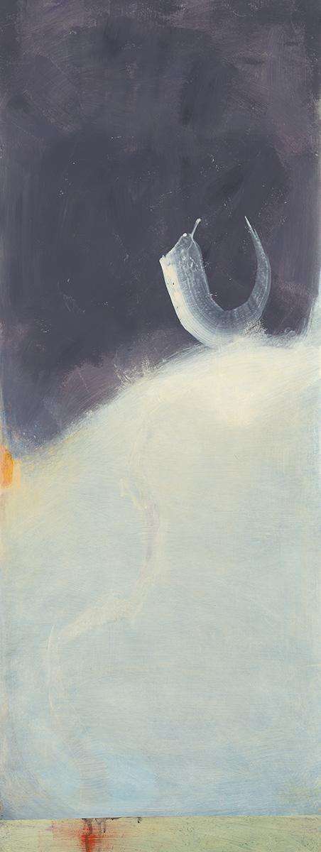 Susanna Gallisdorfer - Uplift, acrylic on Tyvek, 2012.