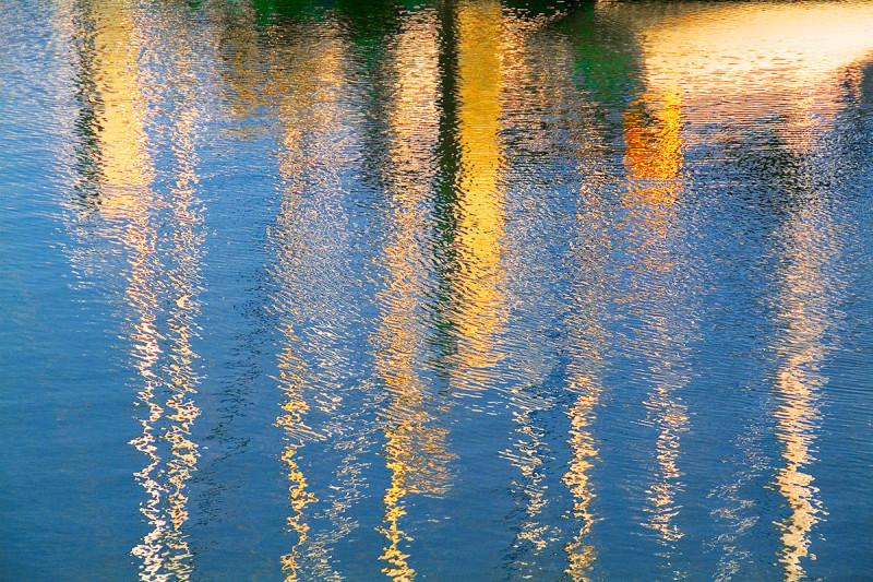 Boat Slip 6, 20 x 30 photograph by Rick White.