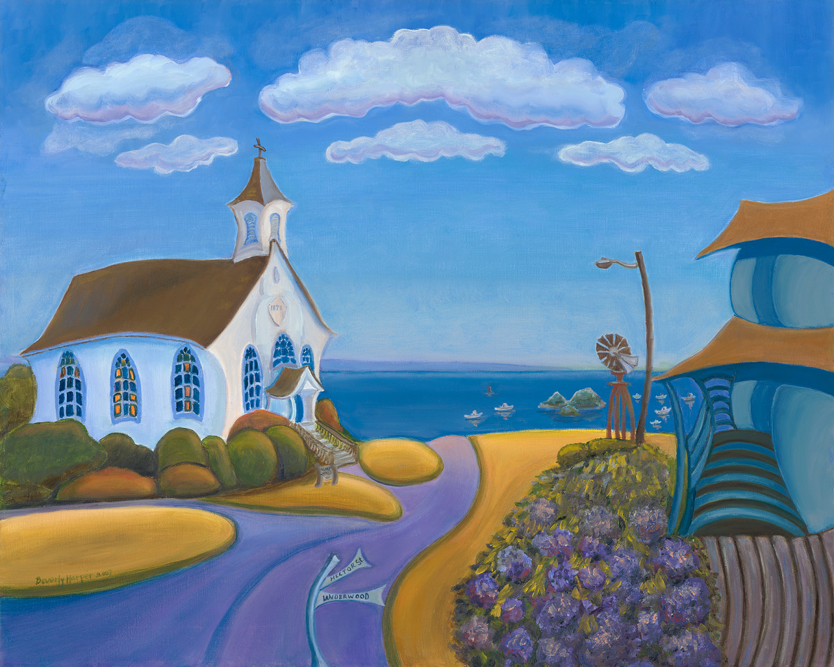 Holy Trinity by Beverly Harper, Limited Edition print from acrylic painting.