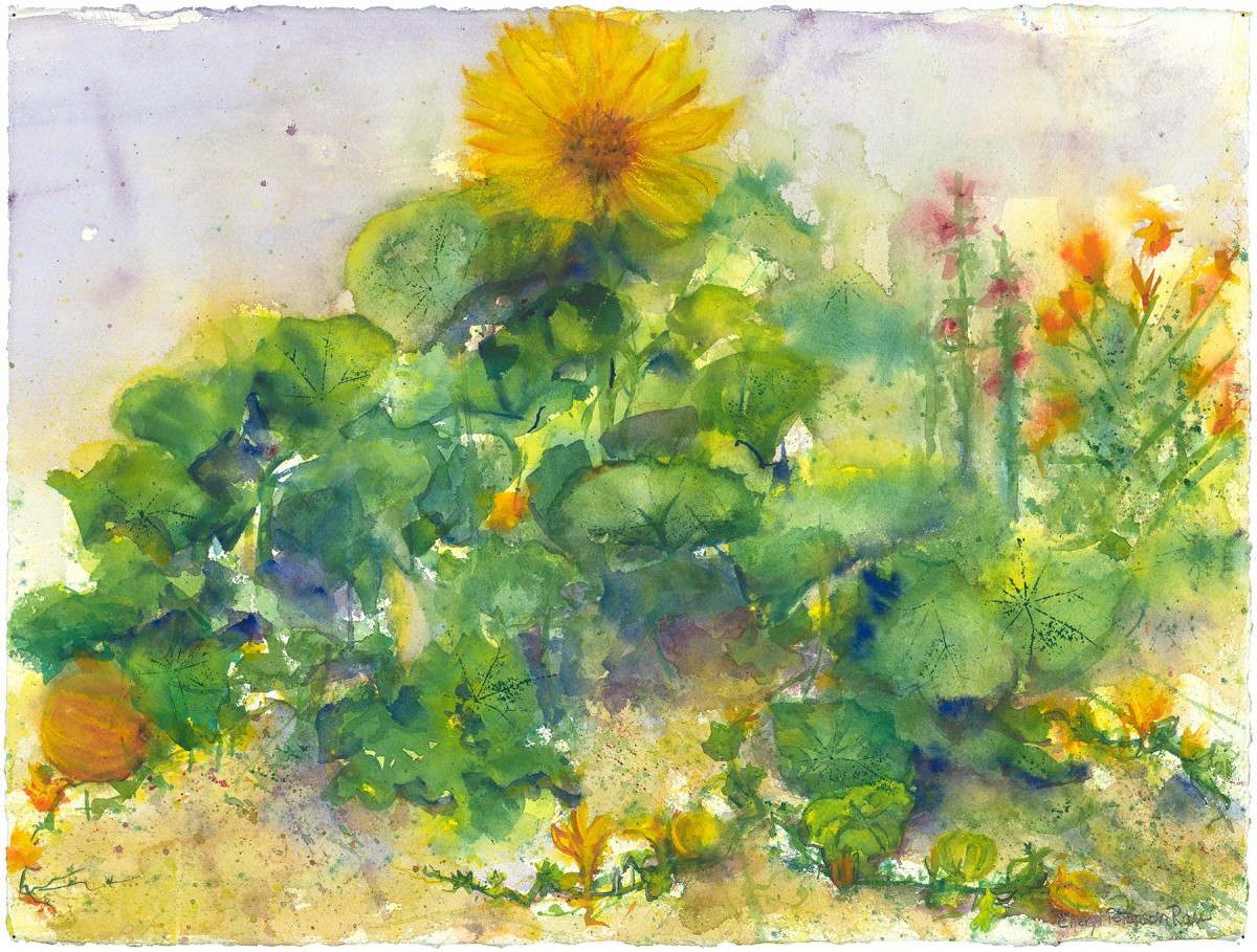 Summer Poetry by Cheryl Rau, Limited Edition print from original watercolor.