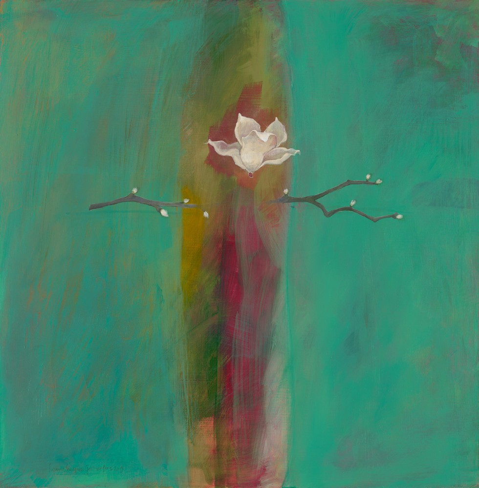 Healing Cross by Susanna Snodgrass, Limited Edition Print from original acrylic on paper painting.