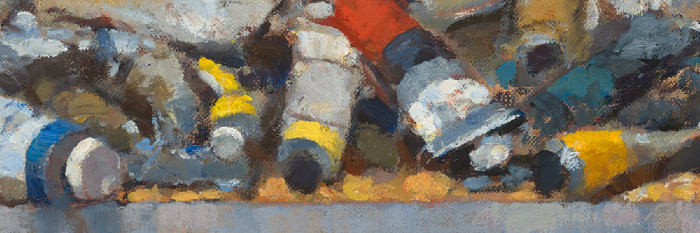 paint tubes from oil painting by Jim McVicker