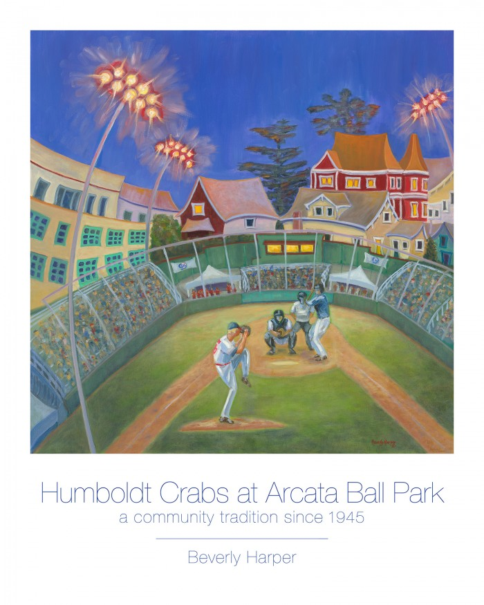 Crabs Baseball by Beverly Harper