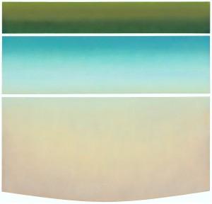 Elk River Slough, #2, oil on canvas, 72x60, 2012